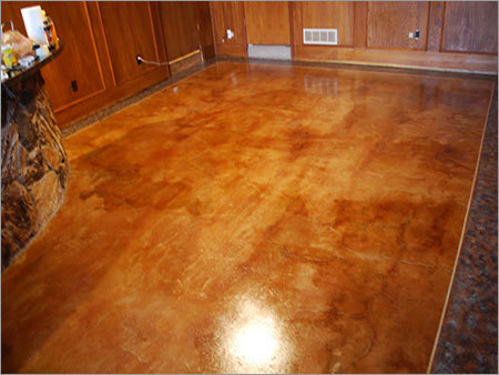 Concrete Stained Flooring