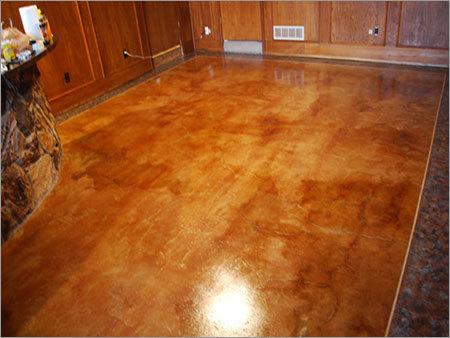 Decorative Stained Concrete Flooring
