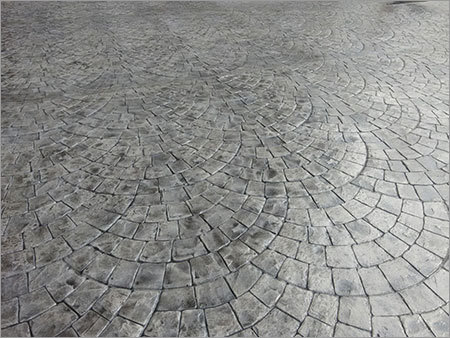 Stamped Floor Concrete