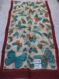 Pure Silk Butterfly Stoles