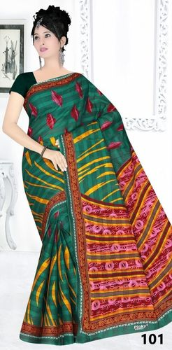 Latest Cotton Printed Saree