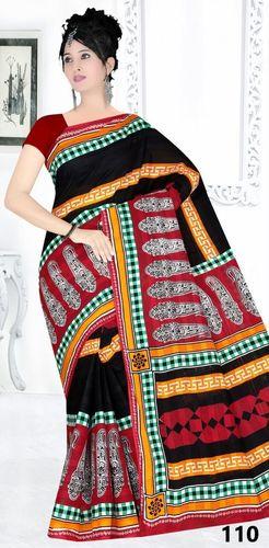 New Catalog For Cotton Printed Saree