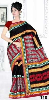 New Catalog For Cotton Printed Saree