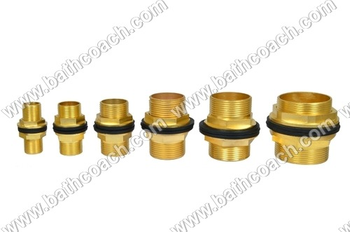 Brass Tank Nipples with Washer