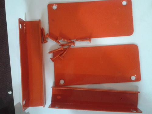 Powder Coated Mild Steel Brackets