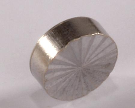 Brass Diamond Mirror Cap