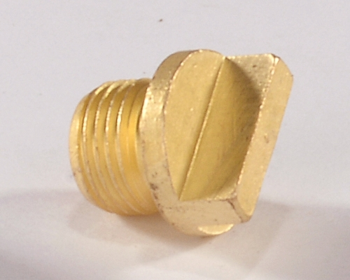 Brass Hex Plug