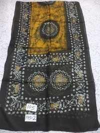 Pure Silk Batik Printed Stoles