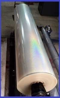 Transparent Holographic HRI Lamination Film