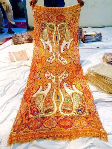 Antique Kalamkari Embroidery Artwork