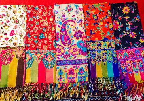 Kashmiri Needlework Wraps