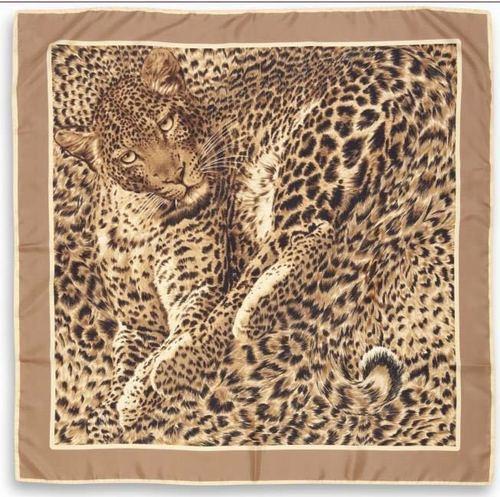 Silk/Cashmere Satin Square Scarfs/Foulards