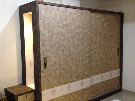 Wooden Laminated Wardrobe