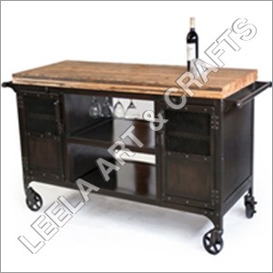 Vintage Bar Trolley