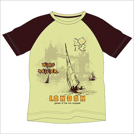 Boys Round Neck T-Shirts