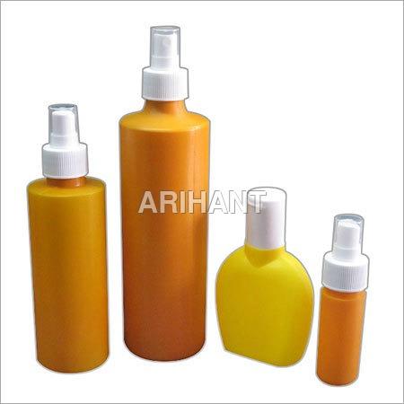 Color Plastic Bottles