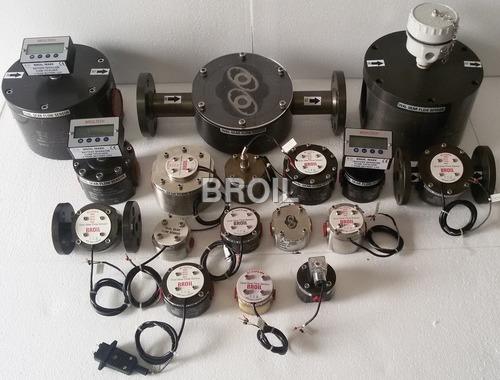 Oval Gear Flow Sensor And Meter