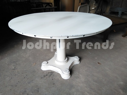 Industrial Dining Table ,Industrial Furniture round table