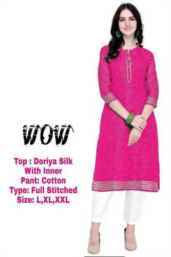 Causal Cotton Kurti