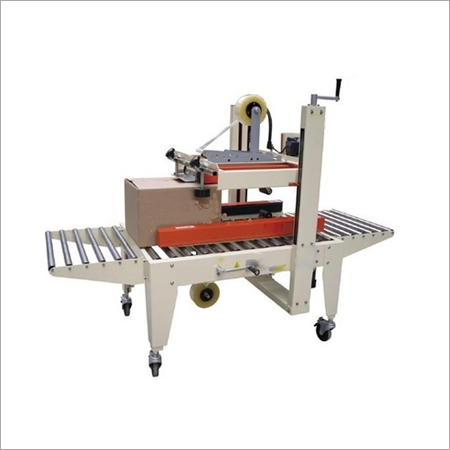 Side And Top Belts Driven Carton Sealer
