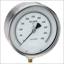 Test Pressure Gauge