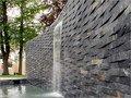 Black Slate Stone Wall Panel