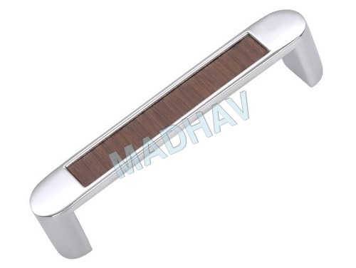 White Metal Pull Handle