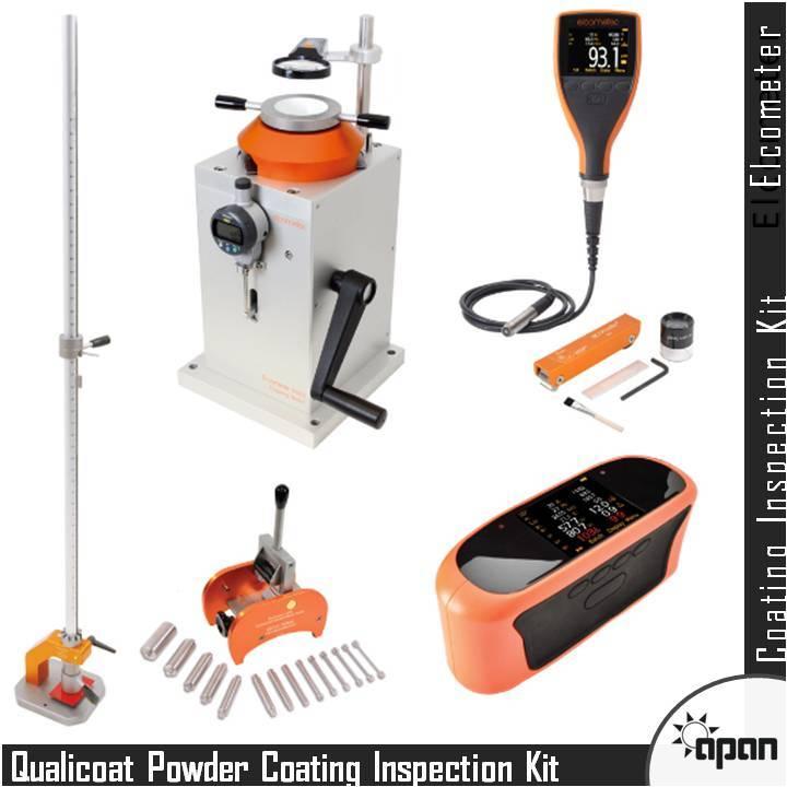 Qualicoat Powder Coating Inspection Kit