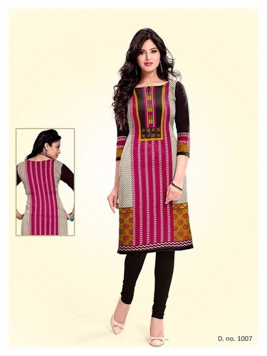 Printed Kurti Materials Manufacturer
