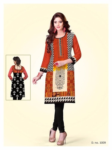 Wholesale Printed Kurti's Materials