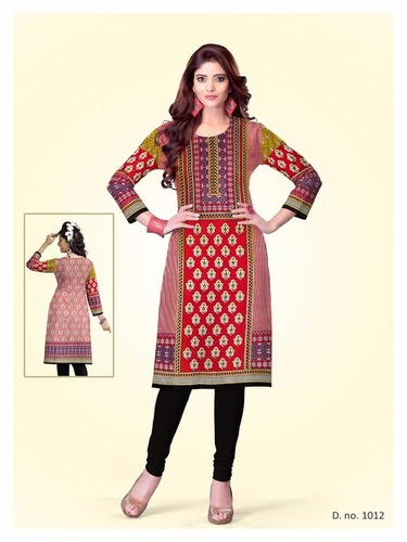 Printed Kurti Materials Wholesale