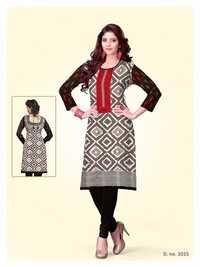 Cotton Printed Kurties Online