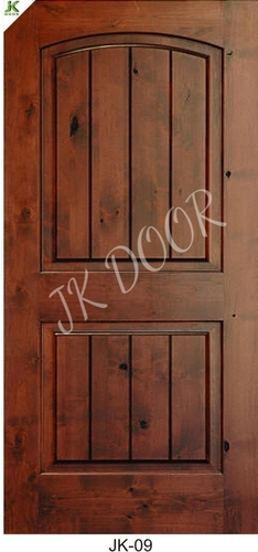 Brown Wood Door