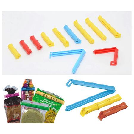 Colored Plastic Bag Clip