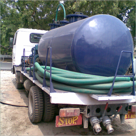 Cesspit Emptier Tank