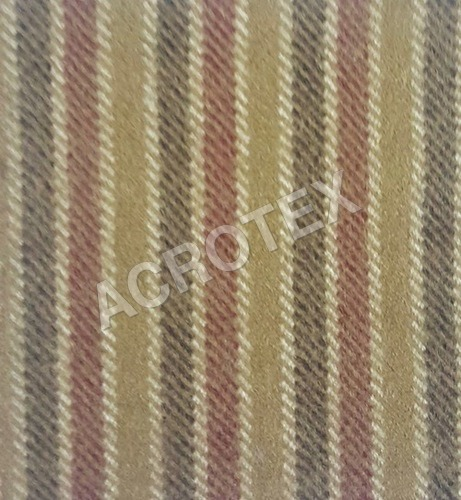 Trendy Acrylic Cashmilon Stripe Fabric