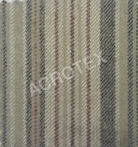 Acrylic Cashmilon Stripe Fabric