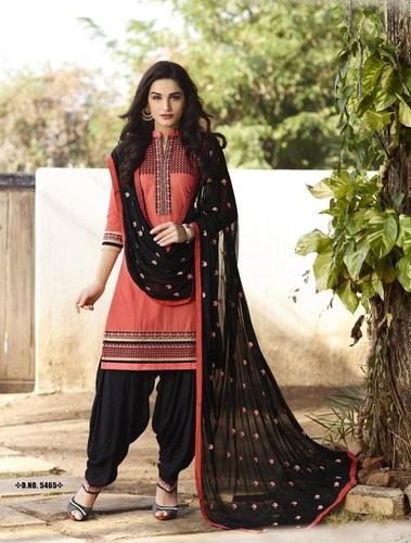 Cotton Patiyala Salwar Suit
