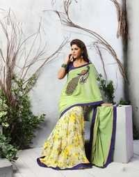 Casual Embroidered Saree