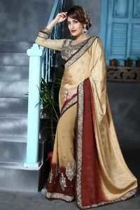 Stylish Embellished Saree