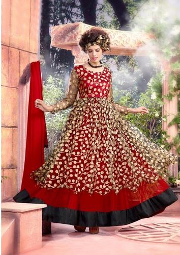 Designer Brasso Net Gown