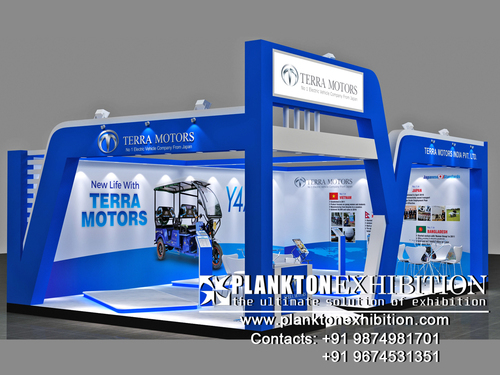 3D Exhibition Booth Designing Service