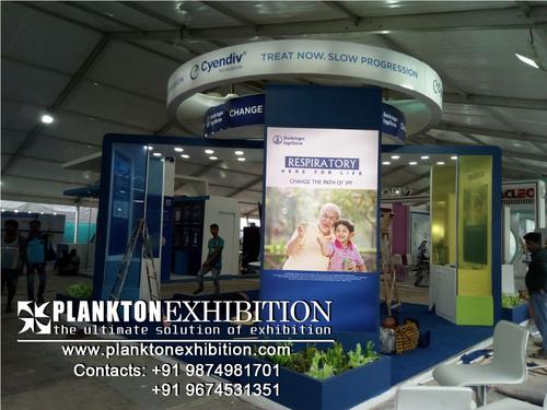 Medical Fair Stall Design