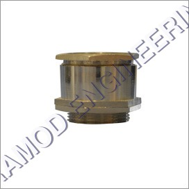 Single Compression Brass Gland