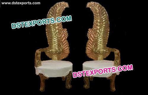 Wedding Beautiful Metal Leaf Chairs