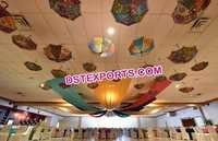Indian Wedding Decoration Hanging Small Umbrellas