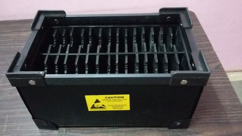 ESD Bins With Conductive Sheet Partitions