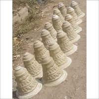 Fiber Mandap Pillar