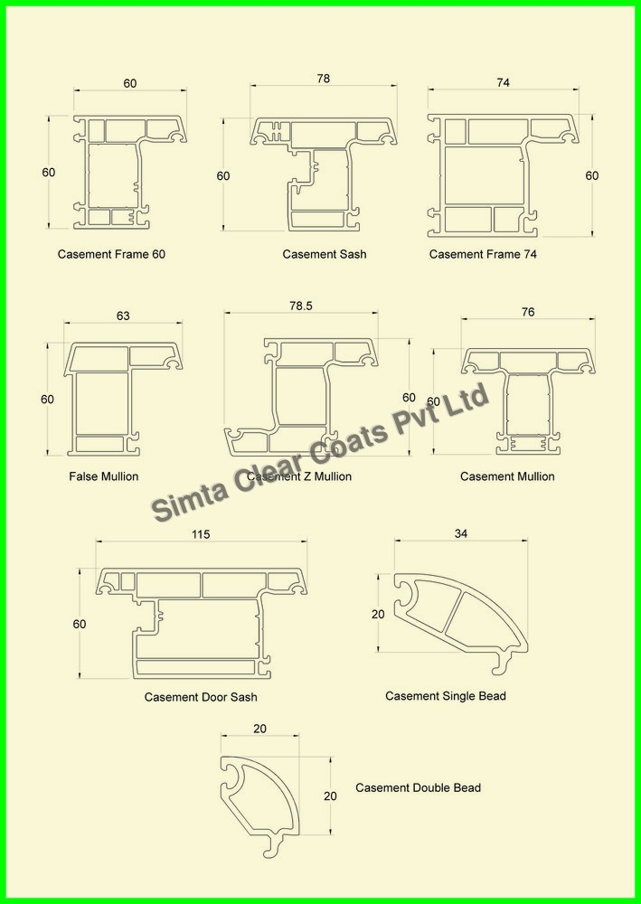 Casement Series Profiles