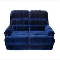 Blue Recliner Sofa